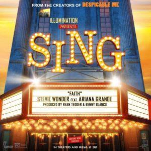 stevie wonder ariana grande faith ost sing 2016