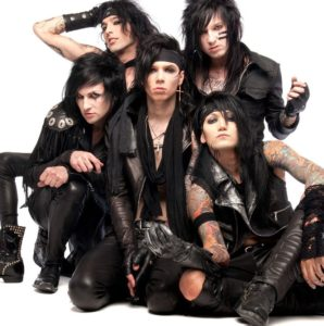 black veil brides the outsider