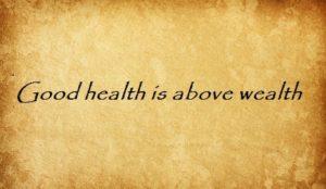good health is above wealth перевод английские пословицы и поговорки